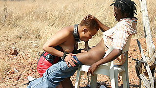 african fetish fuck lesson at the savannah