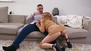 Anya Olsen is ready for hard sex with her boyfriend in many poses