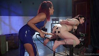 Ass fucking toy porn and brutal femdom in hot BDSM