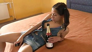 German pornstars masturbates