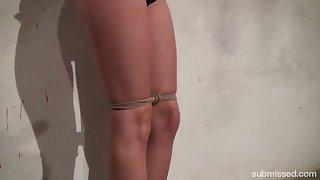 Arjan & Daphne Klyde in Hot Blonde Karol Tied Up - KINK