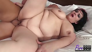 Fat woman just needs a good fuck on a daily basis, to be completely satisfied