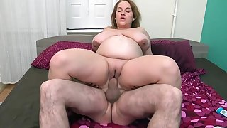 fat milf  - Blowing Off