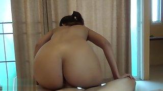 Riding cock, titfucking, spitting cum like a good girl