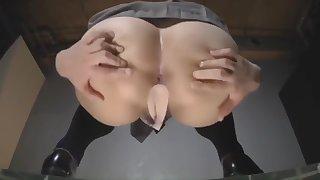 japanese schoolgirl strip and dance on the majority