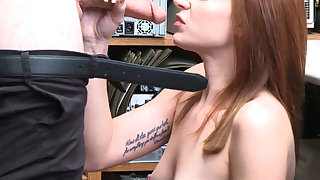 Shoplifter Jaycee Starr helps LP fulfills his needs
