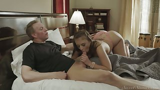 Bootyful neighbor gal Gia Derza dreams about riding strong cock